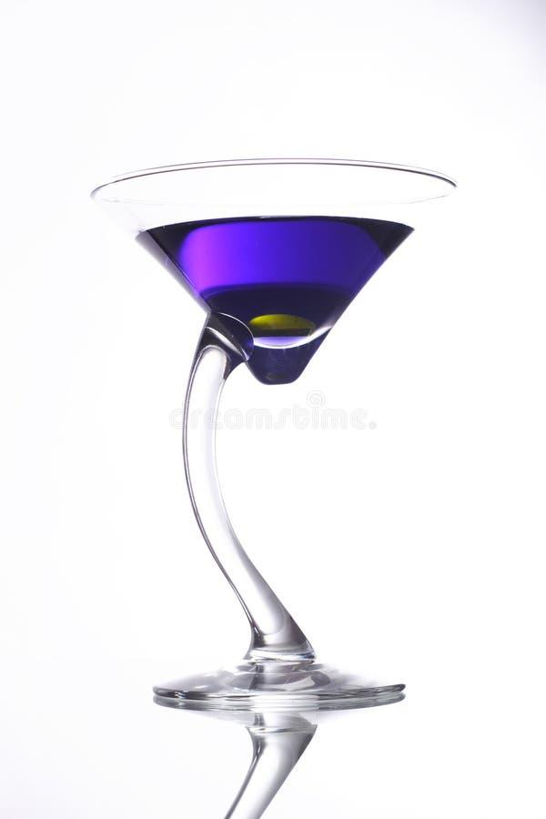 Cocktail roxo fotografia de stock royalty free
