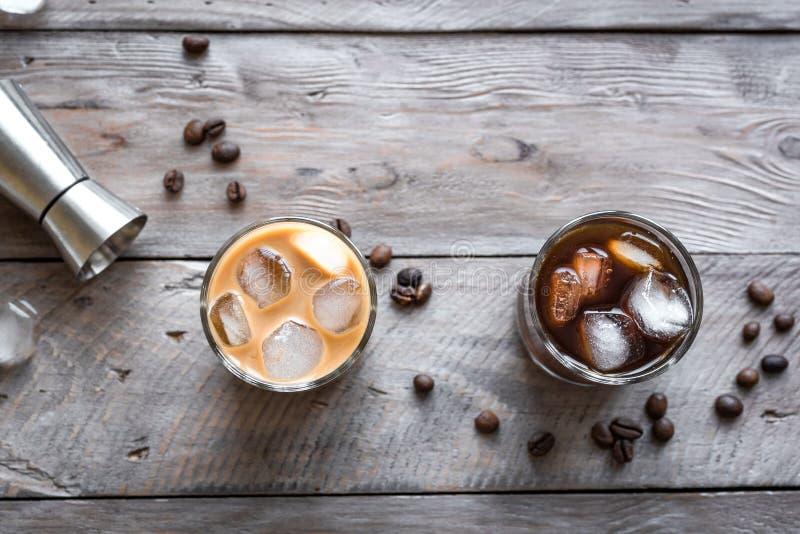 Cocktail russi in bianco e nero fotografie stock libere da diritti