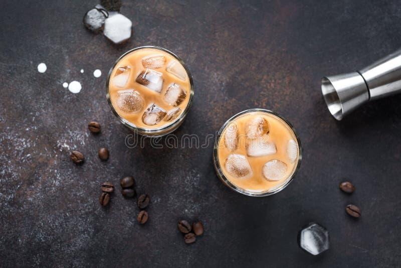 Cocktail russo bianco fotografie stock libere da diritti