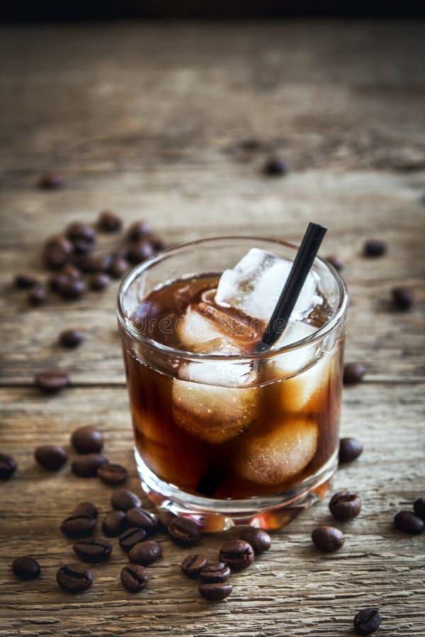 Cocktail russo nero immagini stock