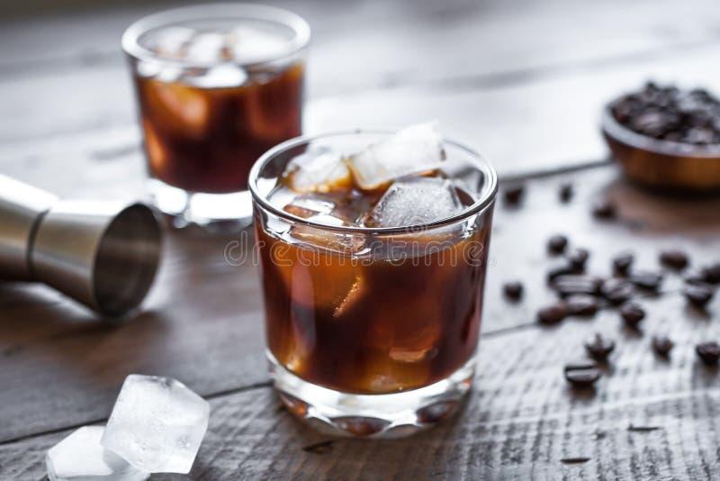 Cocktail russo nero immagine stock libera da diritti