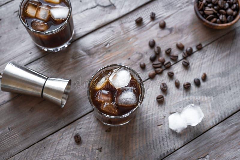 Cocktail russo nero fotografia stock