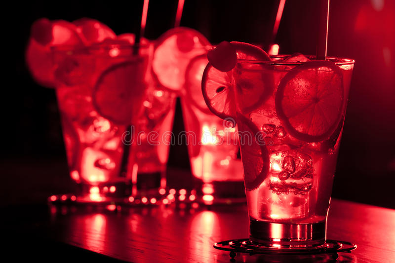 Cocktail-Sammlung - Tom Collins lizenzfreie stockfotos
