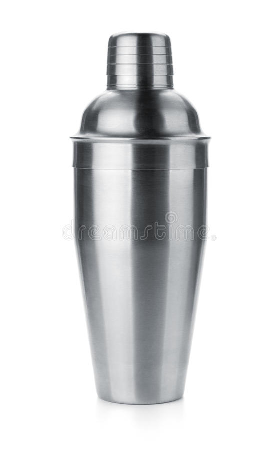 Cocktail shaker stock image