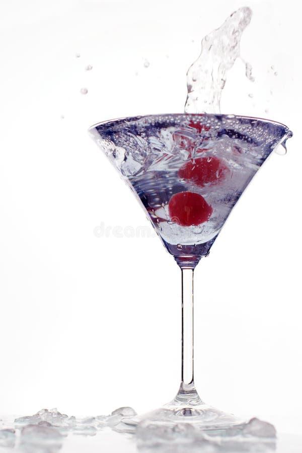 Cocktail splash royalty free stock photos