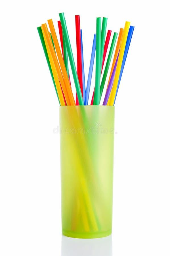 Cocktail Straws Stock Photo