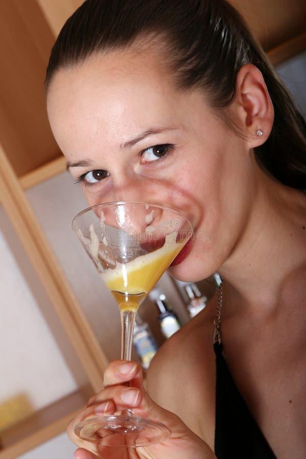 Cocktail sugoso bevente fotografia stock libera da diritti