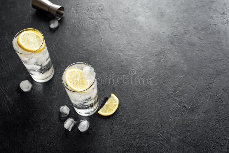 Cocktail Tom-Collins stockfoto