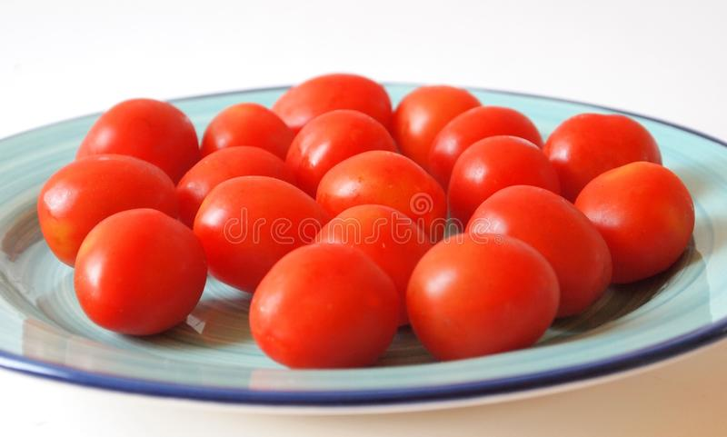 Cocktail tomatoes stock photo