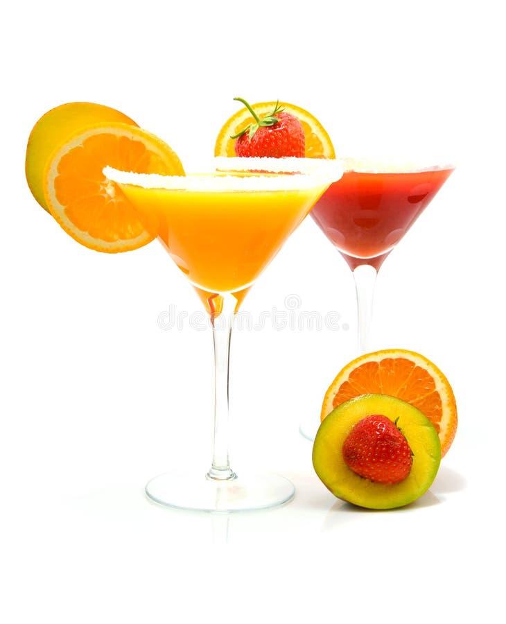 Cocktail tropicais imagem de stock royalty free
