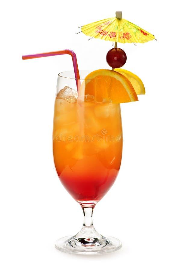 Cocktail tropical foto de stock