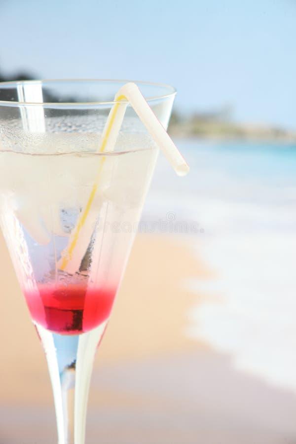 Cocktail on a tropical beach