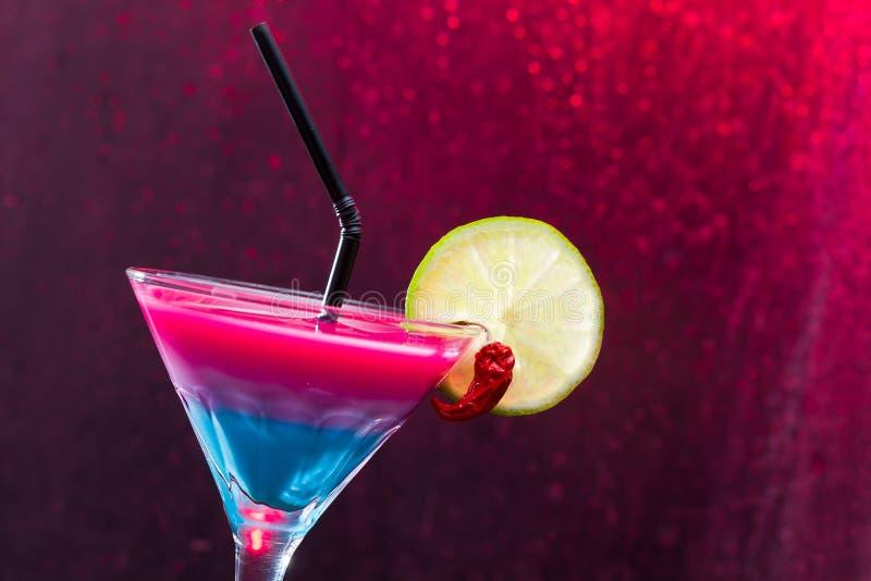 Cocktail tropical fresco imagens de stock