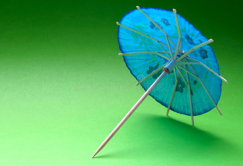 Cocktail umbrella stock photos