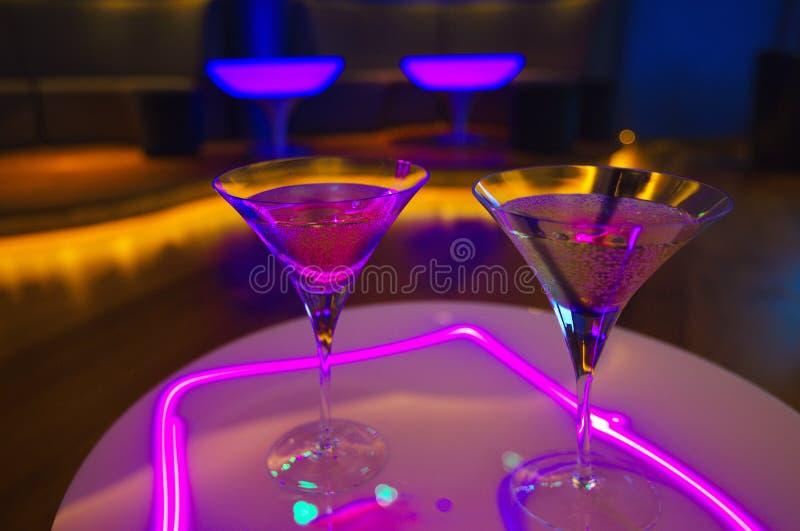 Cocktail in un partito fotografia stock