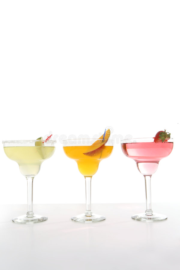 Cocktail variopinti fotografia stock