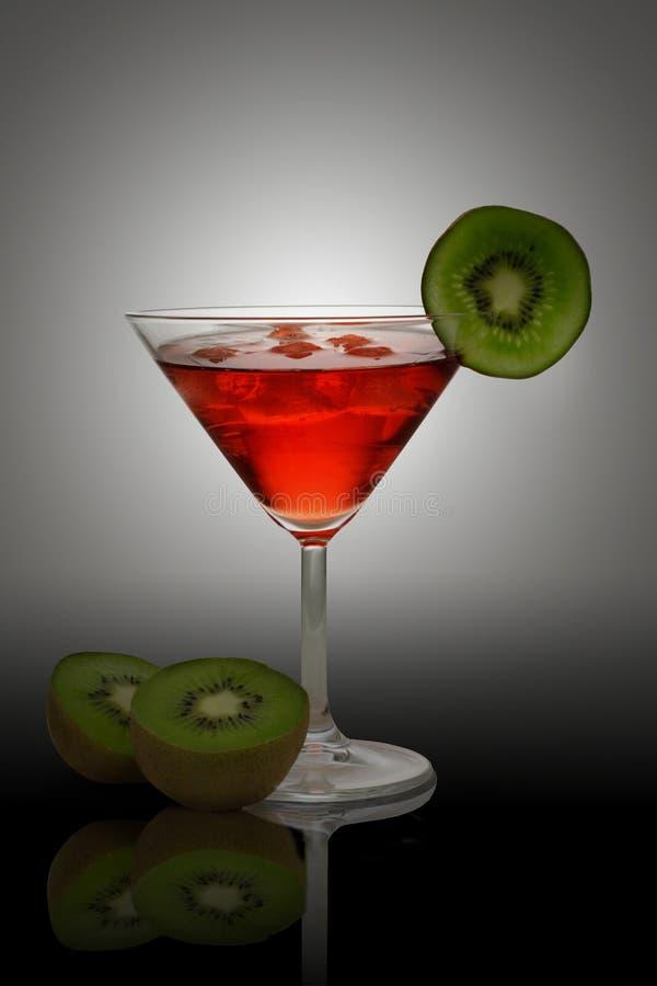 Cocktail vermelho fotografia de stock royalty free