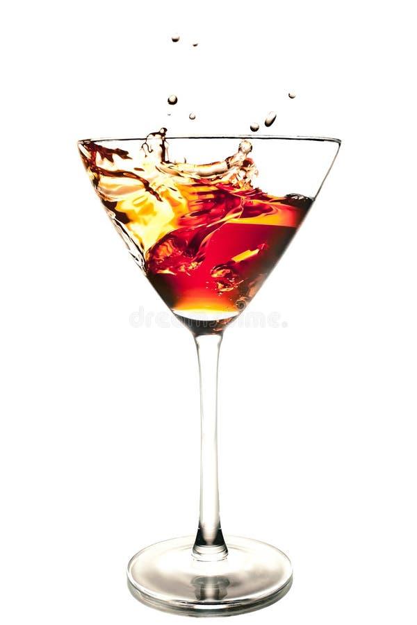 Download Cocktail Vermelho Com Respingo Foto de Stock - Imagem de felicitações, fizz: 29847606