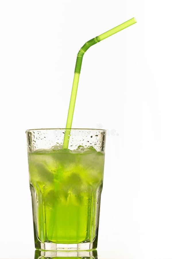 Cocktail vert photographie stock libre de droits
