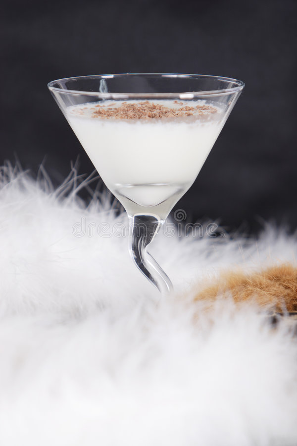 Cocktail winter royalty free stock photos