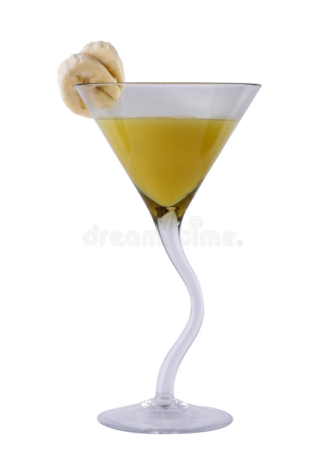Free Cocktail With Banana Liquor Stock Image - 8868891