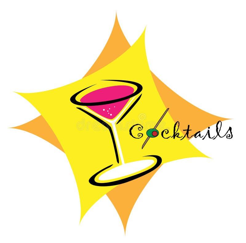 Cocktail14 illustrazione di stock