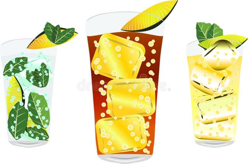 Cocktail2 illustrazione di stock
