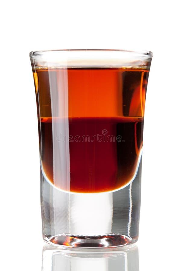 Download Cocktailansammlung: Zweischichtiger Schuß Stockbild - Bild von schicht, getrennt: 12200525