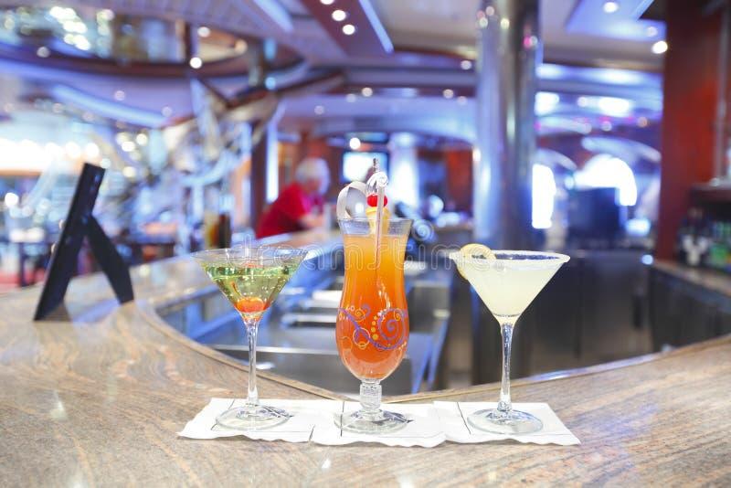 Cocktailgetränke lizenzfreies stockbild
