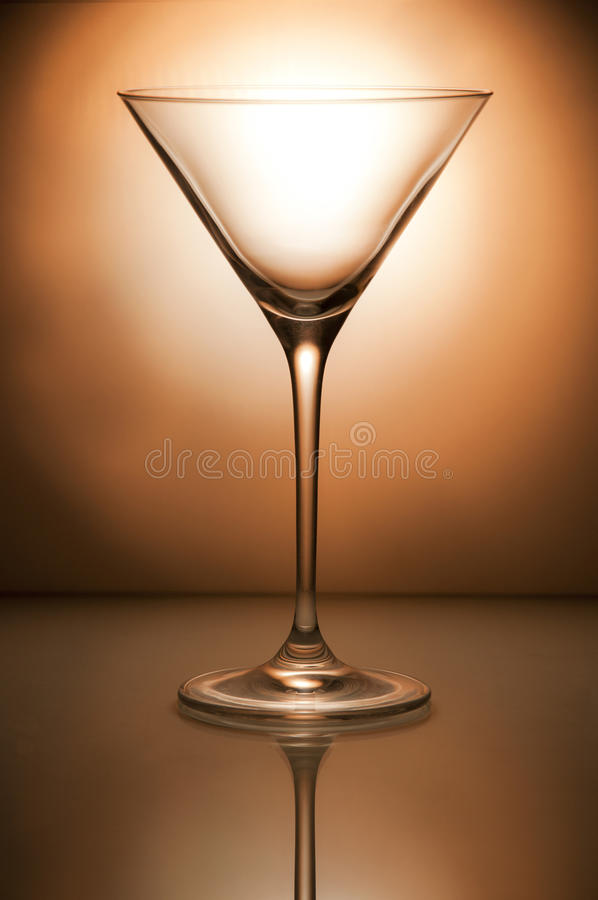 Cocktailglas stockfotografie