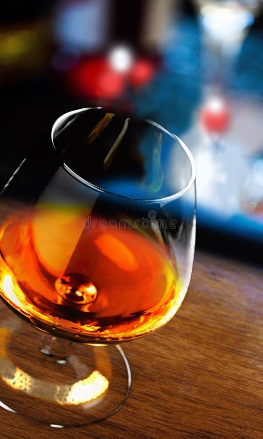 Cocktailglas royalty-vrije stock afbeelding