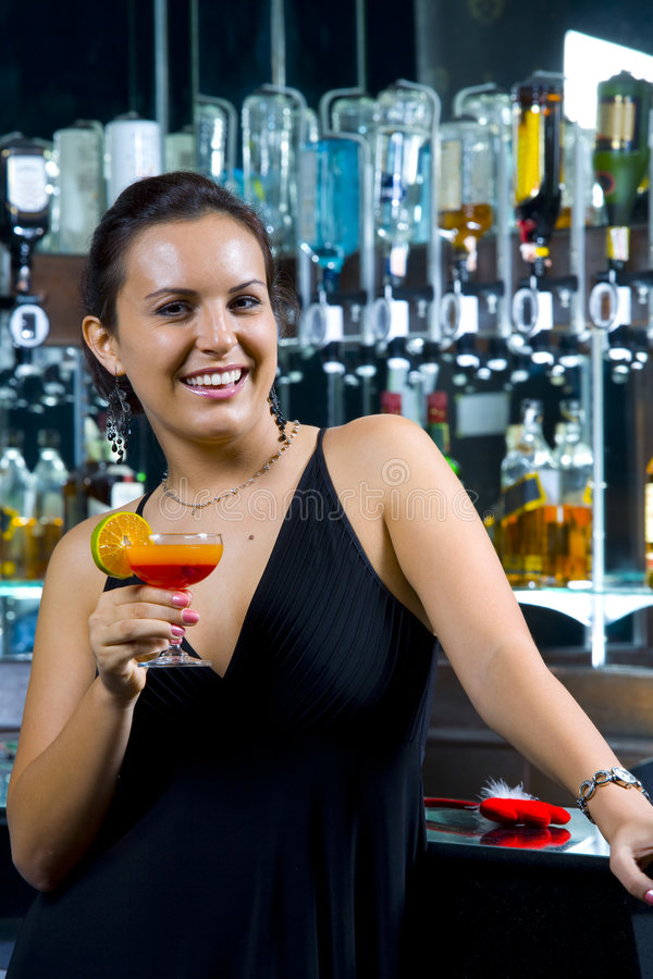 cocktailing 图库摄影