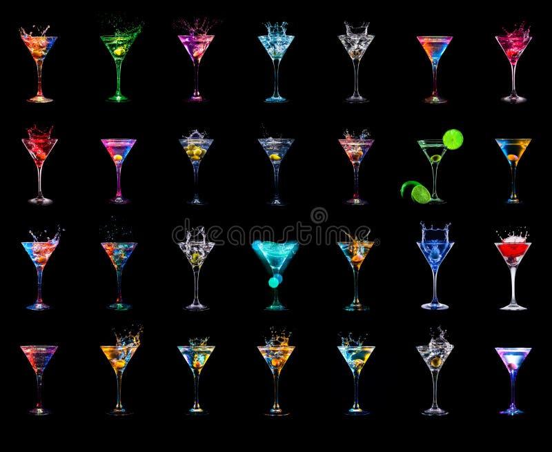 Download Cocktailinzameling stock afbeelding. Afbeelding bestaande uit viering - 54087095