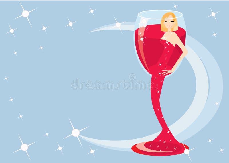 Cocktaill illustration de vecteur