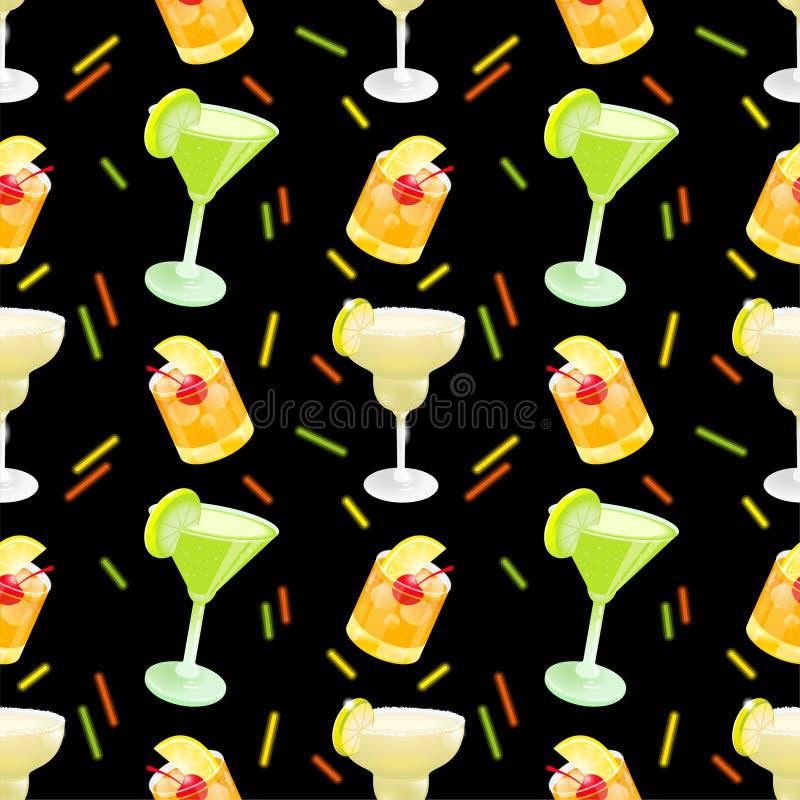 Cocktailmuster vektor abbildung
