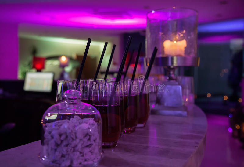Cocktailpartybakgrund royaltyfri fotografi