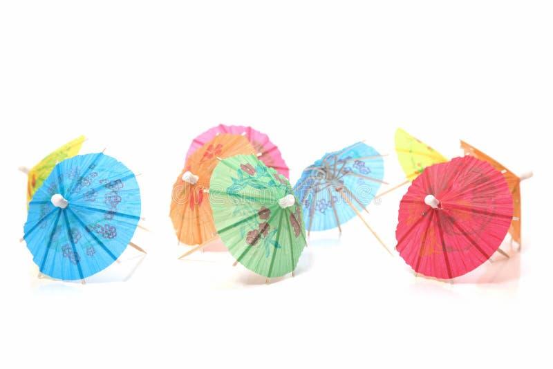 Cocktailregenschirme stockfoto