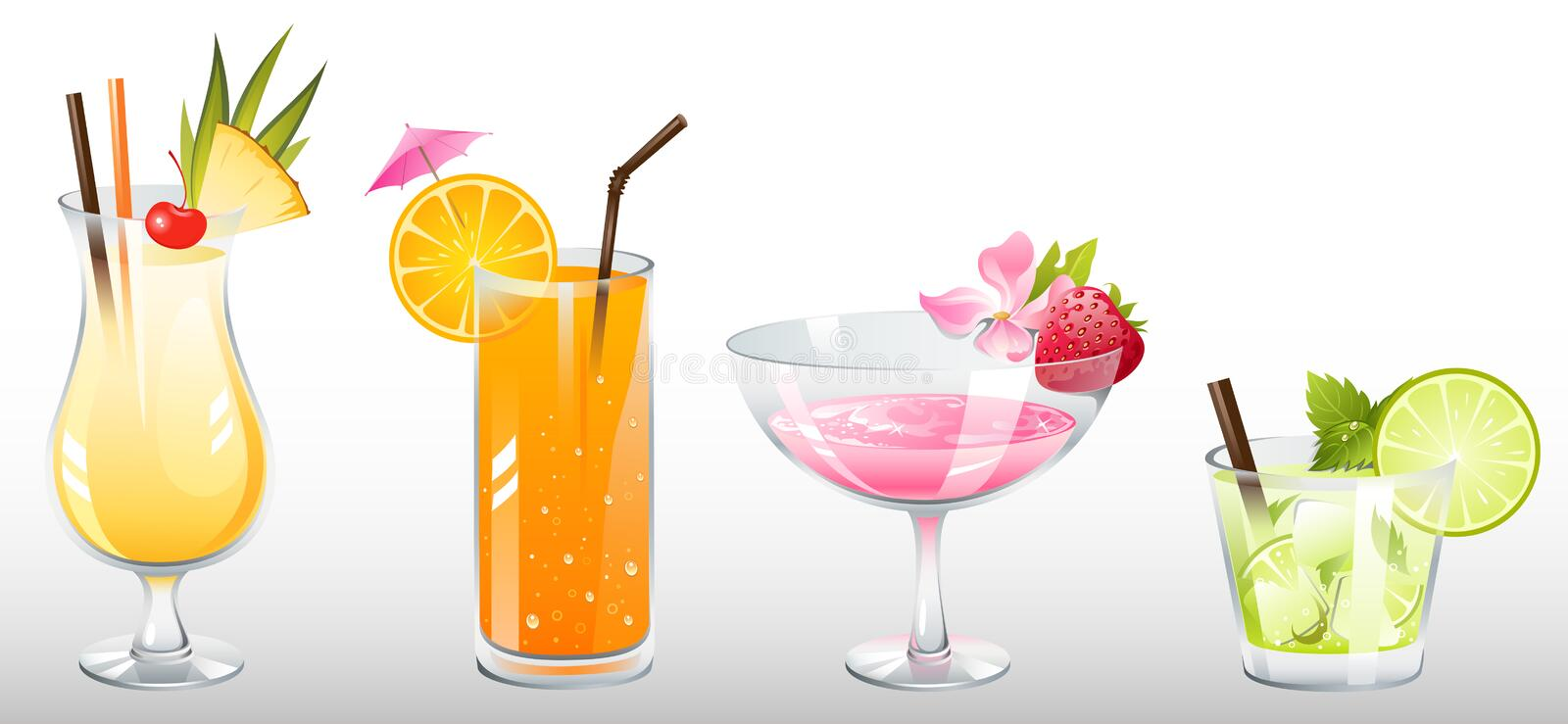 Download Cocktails Royalty Free Stock Images - Image: 10994029