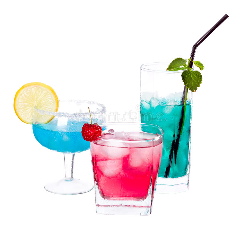 Cocktails photographie stock