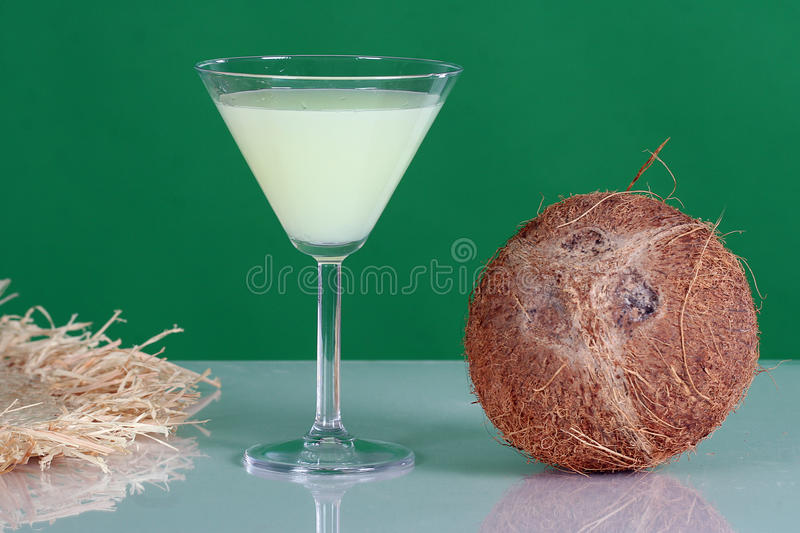 Download Cocktails stock image. Image of colored, glass, coconut - 19834395