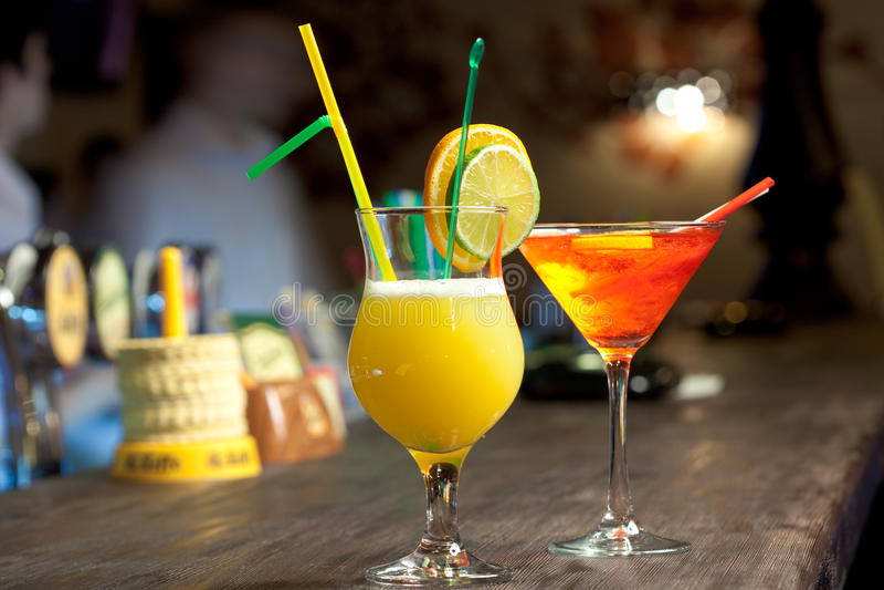 Cocktails stockfotografie