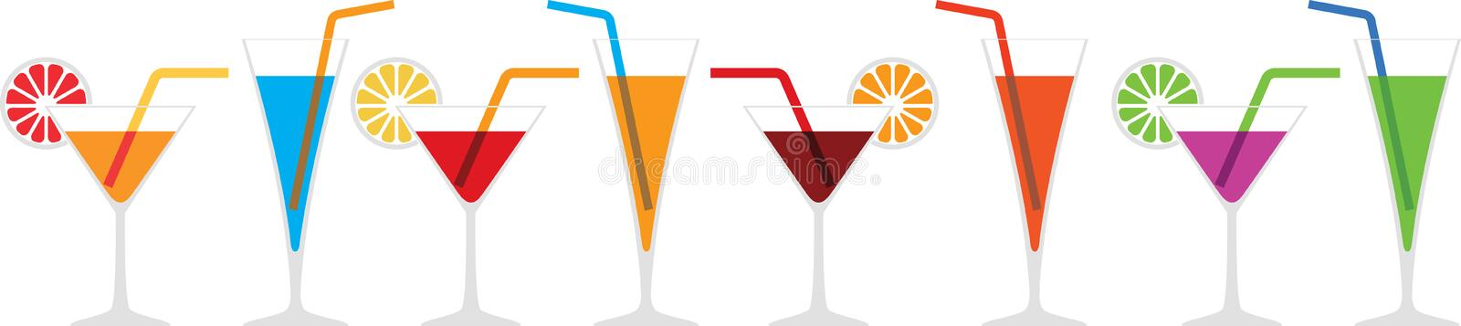 Download Cocktails stock vector. Illustration of glass, daiquiri - 29075234