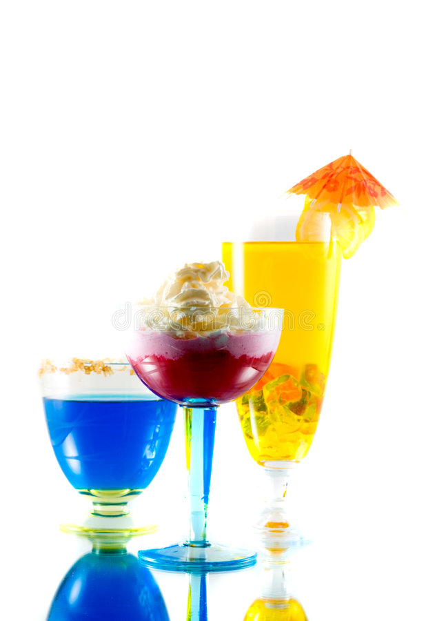 Cocktails stock afbeeldingen