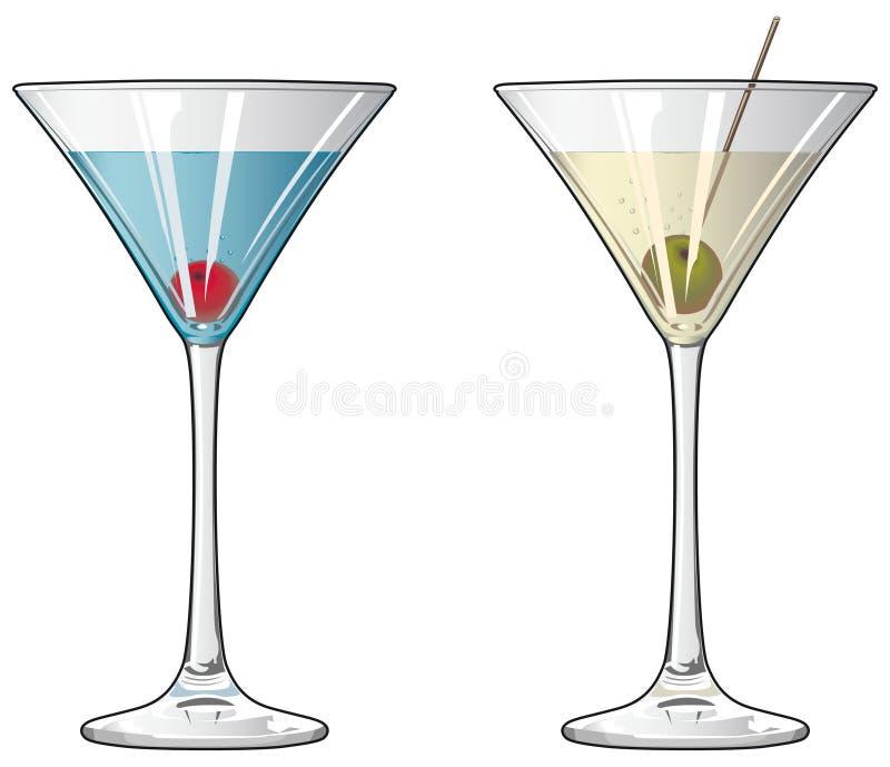 Cocktails vector illustratie