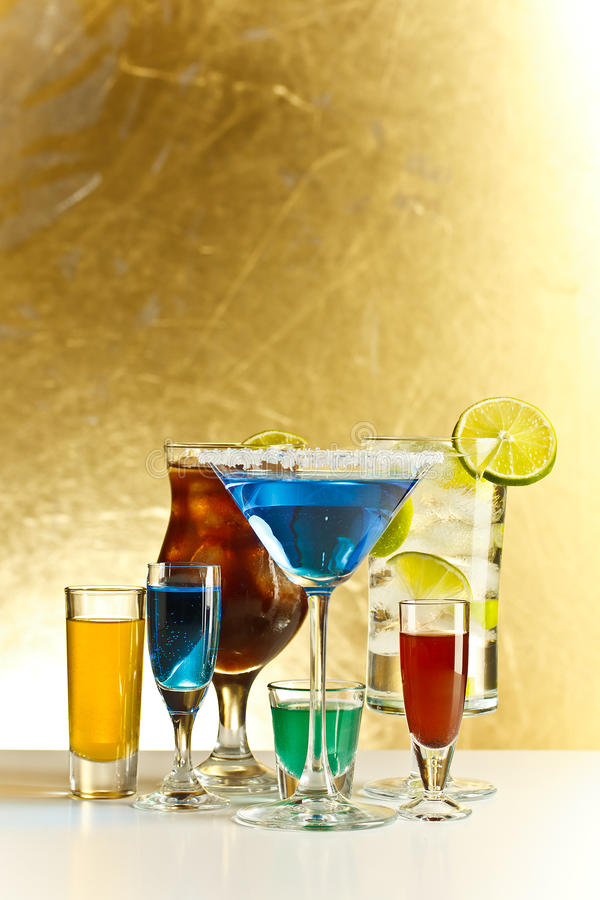 Download Cocktails with alcohol stock photo. Image of shot, glass - 26117878