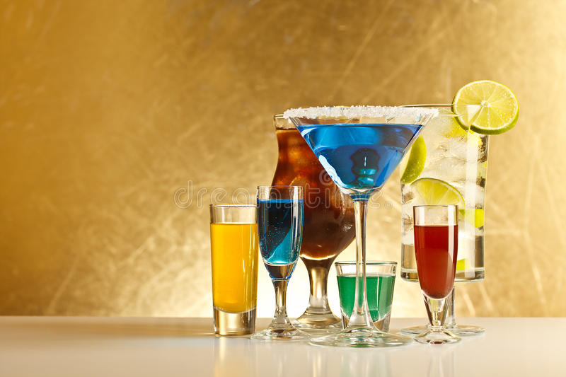 Download Cocktails with alcohol stock image. Image of margarita - 26346577