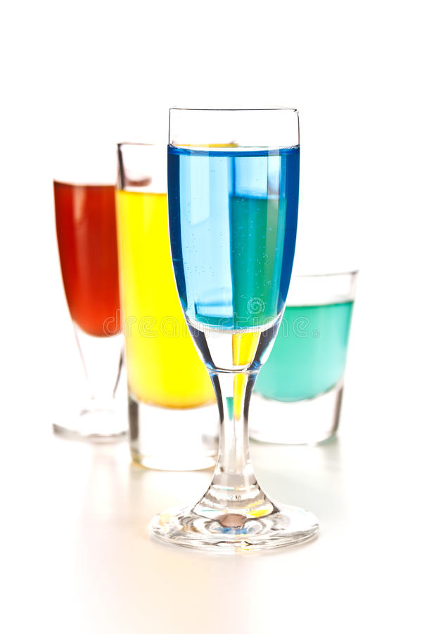 Download Cocktails with alcohol stock image. Image of group, nobody - 26688039