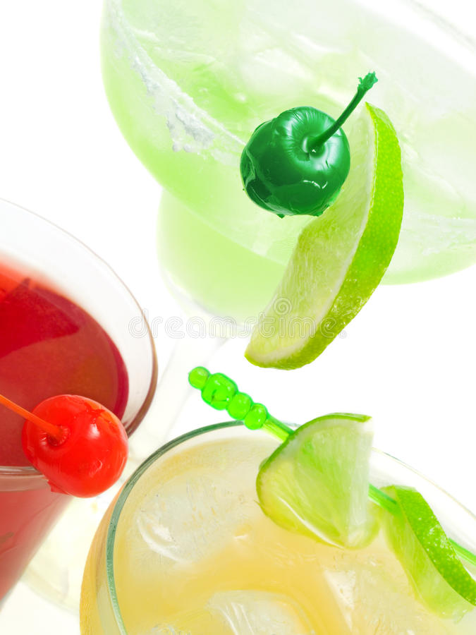 Cocktails Collection stock photography