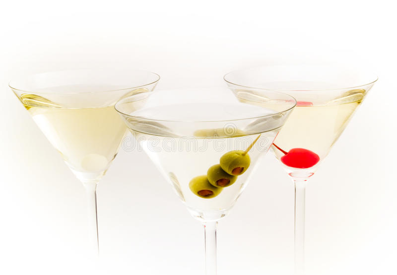 Cocktails Collection - Martinies royalty free stock image