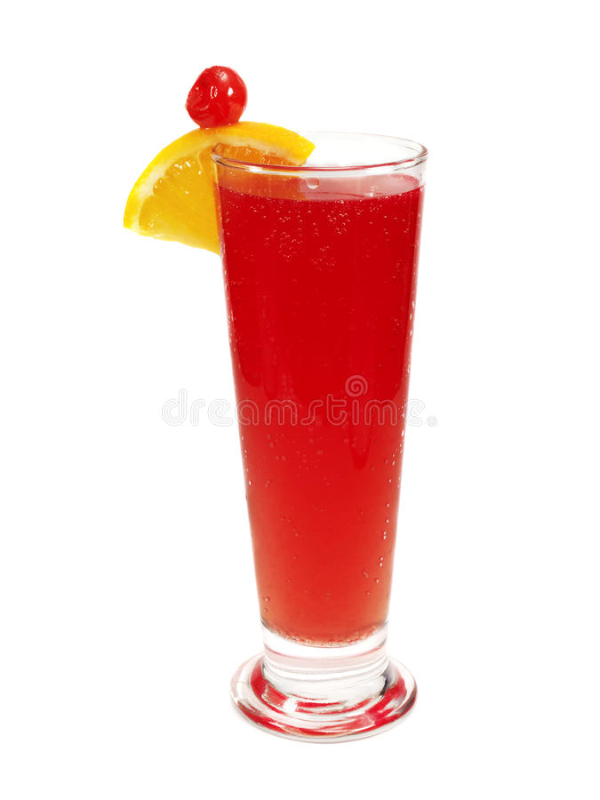 Cocktails Collection - Singapore Sling royalty free stock photography
